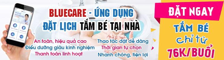 Ứng dụng đặt lịch tắm cho trẻ sơ sinh tại nhà