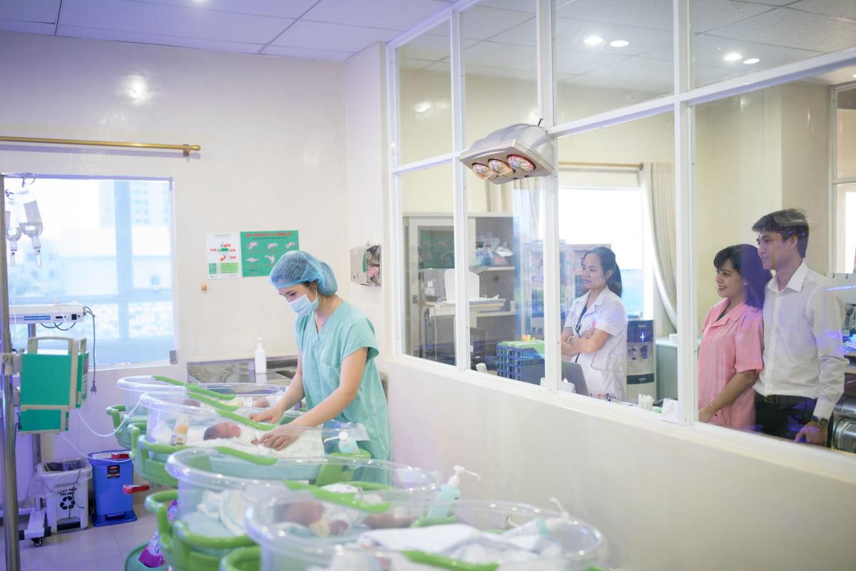 Bệnh viện có được chứng nhận thân thiện với trẻ sơ sinh?