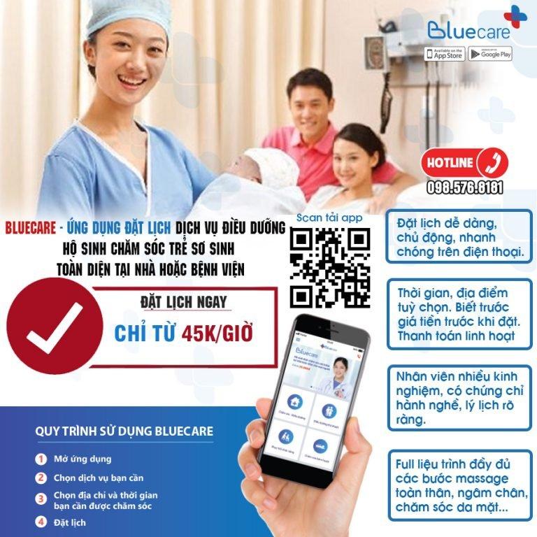 Dịch vụ bảo mẫu tại nhà Bluecare