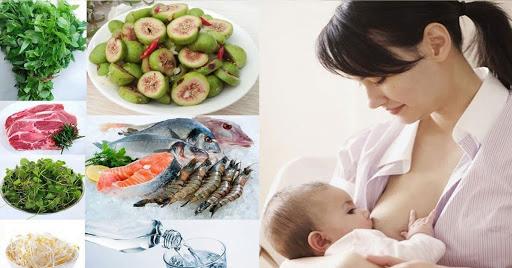 Chế độ ăn sau sinh với top thực phẩm giàu dinh dưỡng hàng đầu