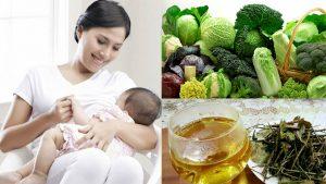 Mẹ ăn gì để nhiều sữa đặc và thơm sau sinh thường và mổ