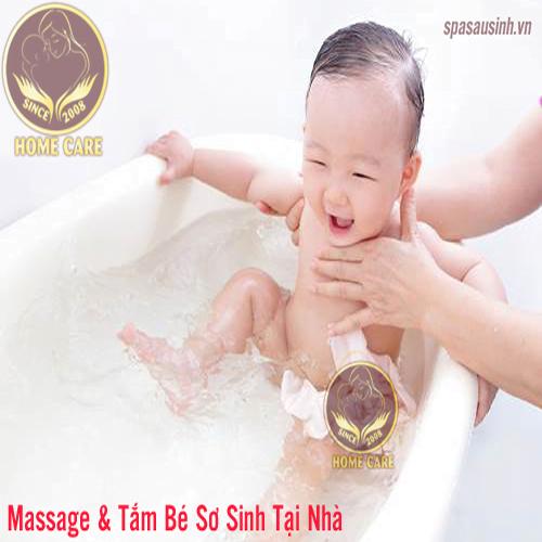 Review dịch vụ tắm bé Hà Nội