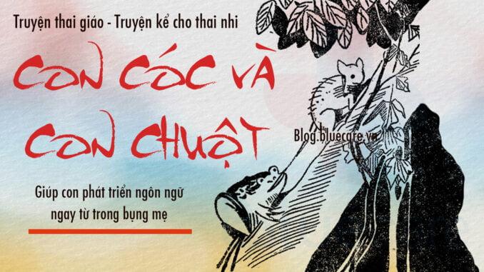 Truyện-thai-giáo-l-Con-cóc-và-con-chuột-l-Truyện-kể-cho-thai-nhi-l-Thai-giáo