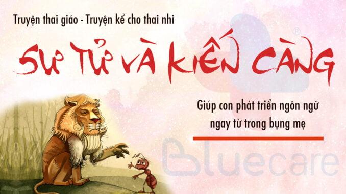 Truyện-thai-giáo-l-Sư-tử-và-kiến-càng-l-Truyện-kể-cho-thai-nhi-l-Thai-giáo