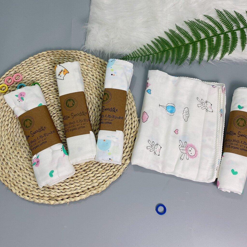 Khăn tắm cho trẻ sơ sinh organic